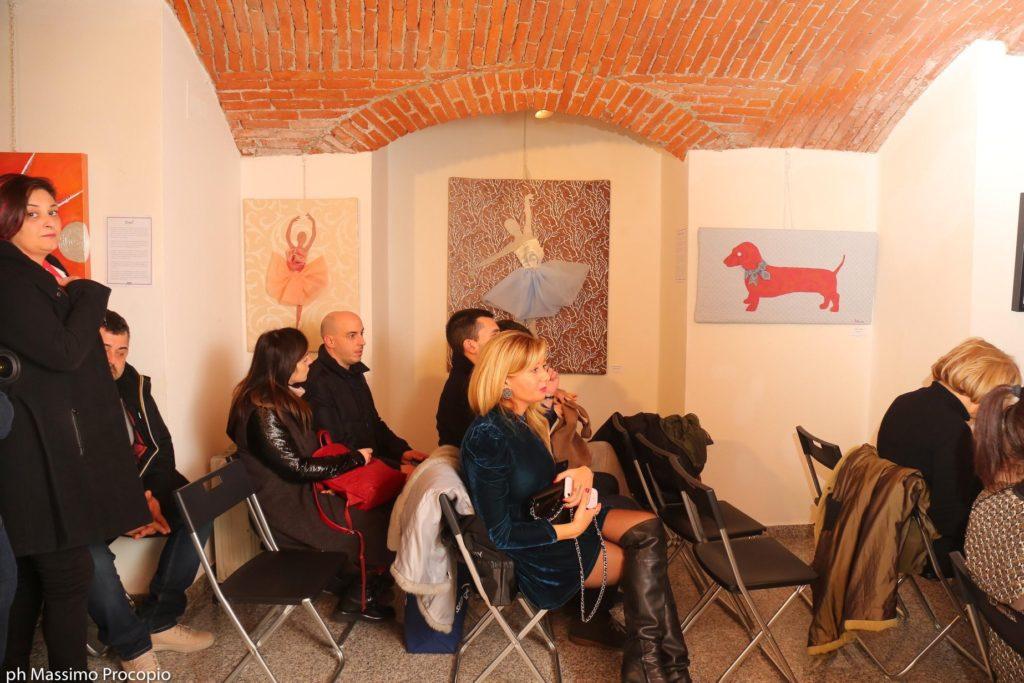 milano art gallery : le tre opere di Criastiana D'anna