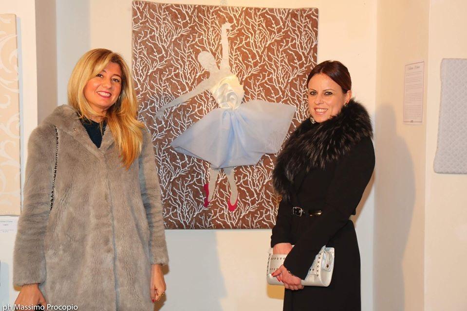 milano art gallery : Desiderio d'amore, opera di Cristiana D'anna esposta.