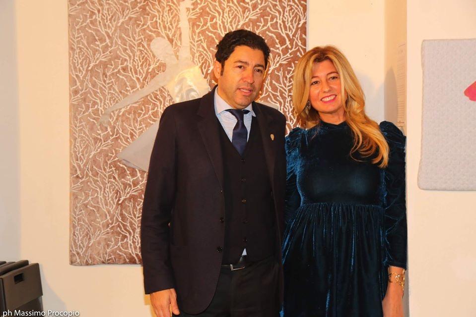 milano art gallery : Salvo Nugnes e Cristiana D'anna