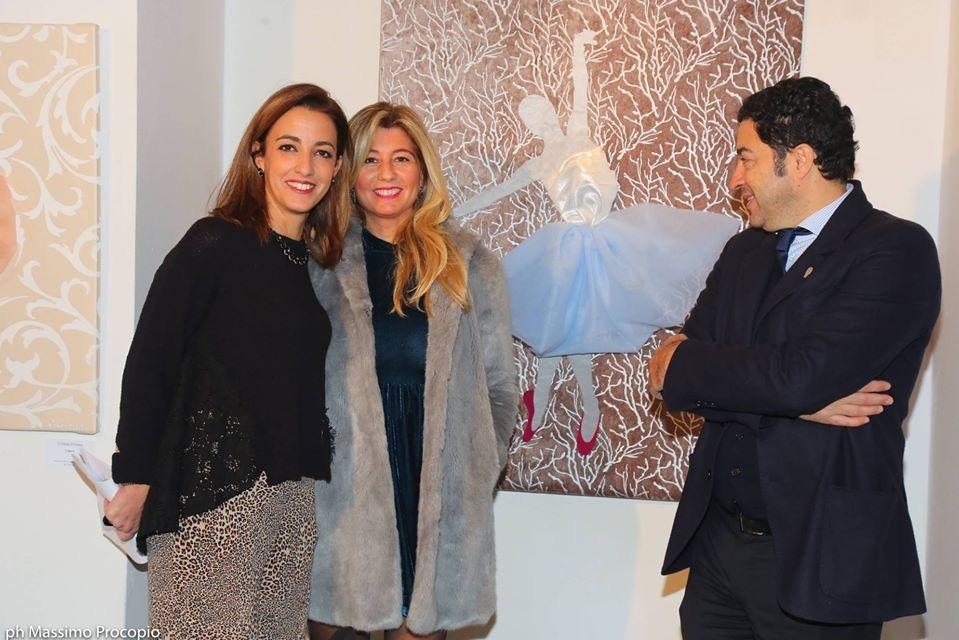 milano art gallery : Cristiana D'anna, Flavia Sagnelli e Salvo Nugnes