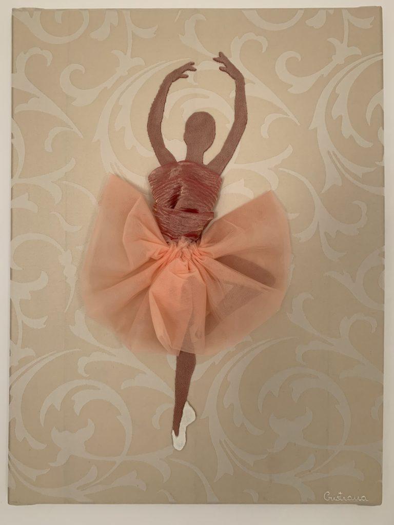 quadro LEGGERA di Cristiana D'Anna presente alla mostra dedicata ad Alda Merini a Milano